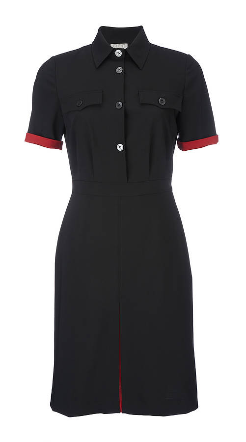secretary uniform dress by client
