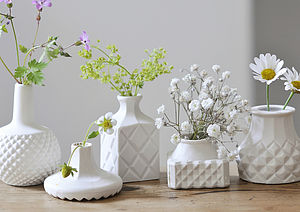 Porcelain Mini Vase - interior accessories