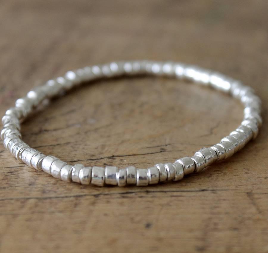 gio ceramic & silver bracelet by ella james ...