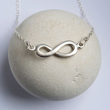 Personalised Silver 'Forever Love' Necklace
