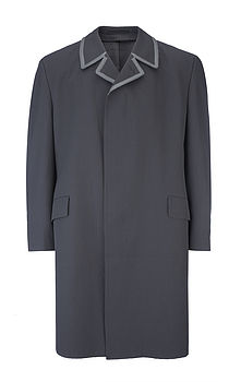 Mens Great Grey Trench