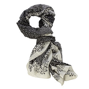 These Same Stars: Rob Ryan Silk Scarf - hats, scarves & gloves