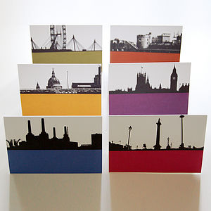 London Landscape Greeting Cards