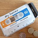 Grey Cassette Tape Phone Case