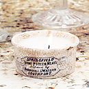 Victorian Dish Scented Candle