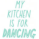 Kitchen Dancing A4 Poster/Print