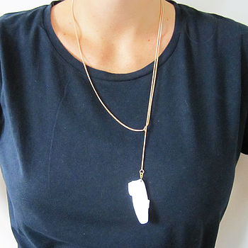 'Hang Loose' Loafers Necklace