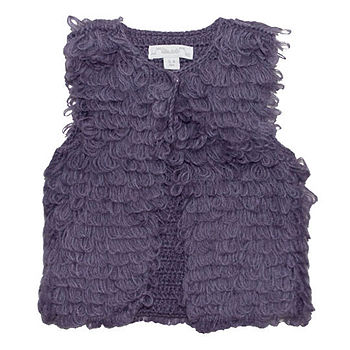 French Design Girls Mohair Gilet