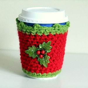 Christmas Cup Cosy - table decorations