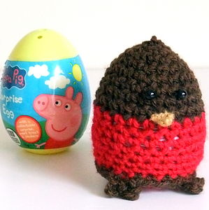 Ricky Robin Christmas Egg Cover