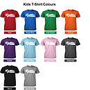 T-Shirt Colours