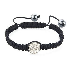 Crystal Ball Friendship Bracelet - bracelets & bangles