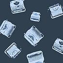 silk handkerchief typewriter