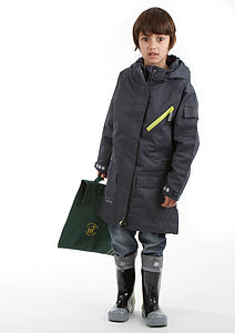 Kozi Kidz Full Length Waterproof Coat - jackets & coats