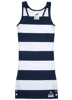 Striped Young Ladies Vest Top