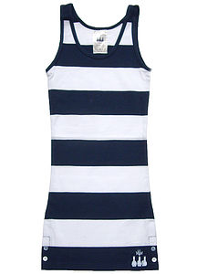 Striped Young Ladies Vest Top - women's fashion