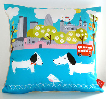 Tower Of London Cushion