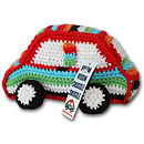 Crochet Toy Car