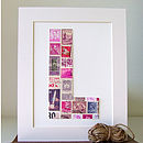 Personalised Postage Stamp Picture