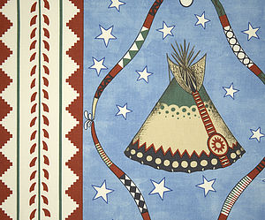 Blackfoot Star Fabric