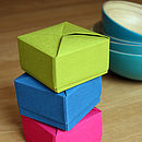 Vintage Comic Origami Box