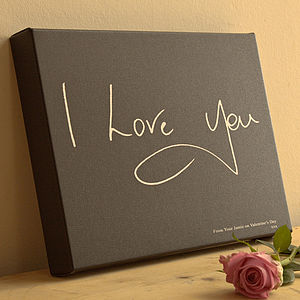 Personalised Handwriting Canvas - paintings & canvases
