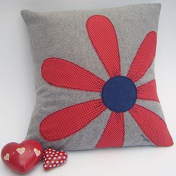 Flower Cushion Front View
