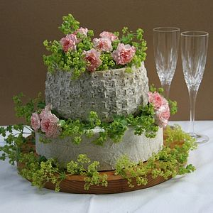 Tinkerbell Tiered Cake Of Cheese - bread & cheese