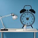 Thumb pl clock alarm