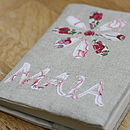 Personalised Notebook - Applique