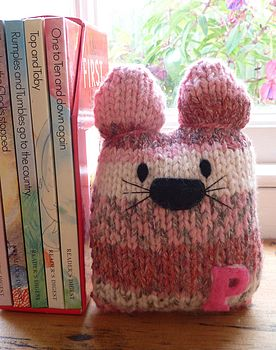 Personalised Hand Knitted Cats