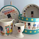 Vintage Style Children's Circus Breakfast Set