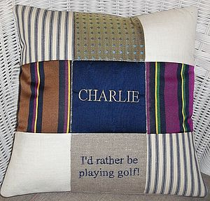 'I'd rather be playing..' Cushion - cushions