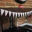 Happy Christmas Bunting - Red
