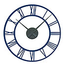 Classic Clock Wall Sticker With Mechanism