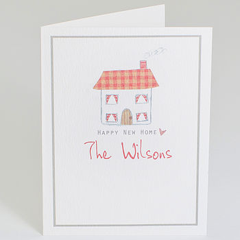 Personalised 'New Home' Card