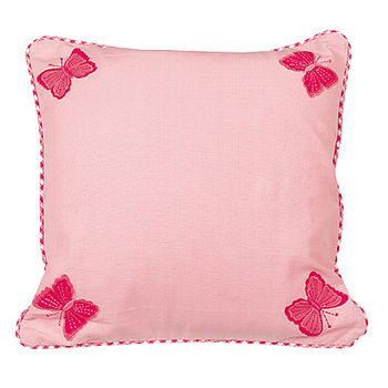 Butterfly Cushion Cover With Cushion Pad