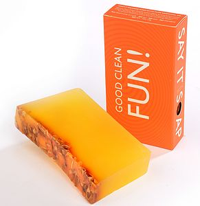 'Good Clean Fun' Handmade Soap - men's grooming & toiletries
