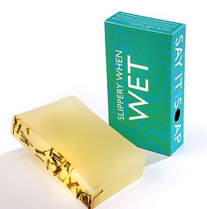 'Slippery When Wet' Handmade Soap - men's grooming & toiletries