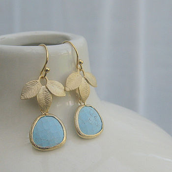 'Fallen Leaf' Earrings
