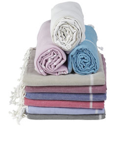 Large Beach Hamam Towel - bathroom