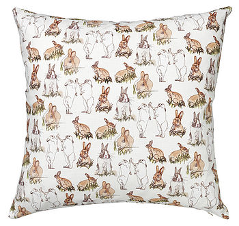 rabbit repeat cushion