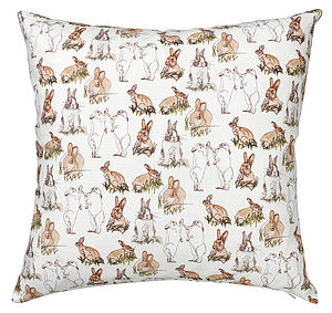 Wild In The Country Cushion - patterned cushions