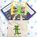 Three Photo Story Books For Boys In A Bag