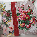 Patchwork Cushion - Blooming