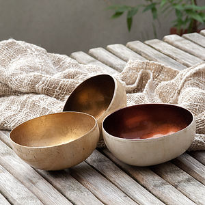 Coco Shell Bowl - decorative accessories