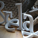 Hand Crafted Wooden Letter