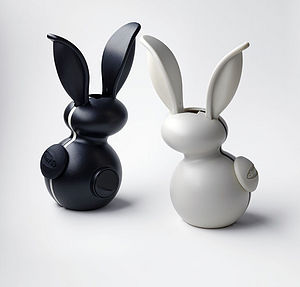 Salt And Pepper Grinder Set In Rabbit Shape - tableware