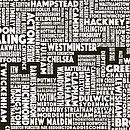 London Screen Print