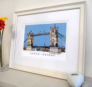 Tower Bridge London Print